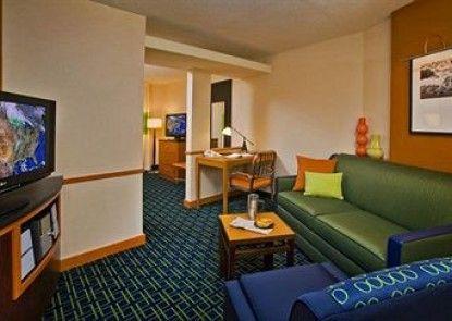 Fairfield Inn & Suites by Marriott New Buffalo Teras