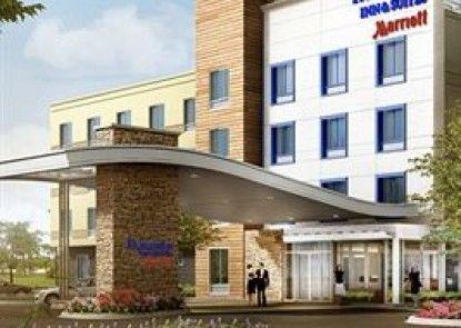 Fairfield Inn & Suites Jeffersonville I-71 Teras