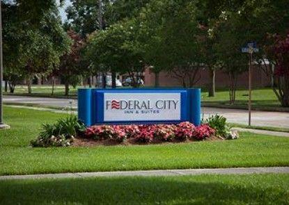 Federal City Inn & Suites Teras