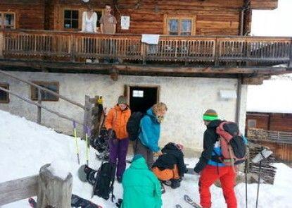 Ferienwohnungen am Berg - Almhütte Alfen