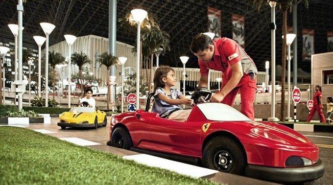 harga tiket Ferrari World Ticket
