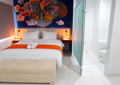 Fizz Hotel Lombok Kamar Tamu