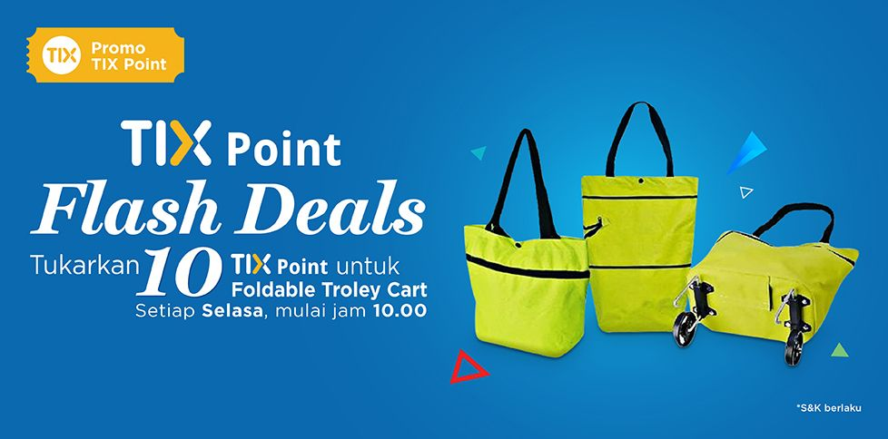 Tix Point - Flash Deals Promo