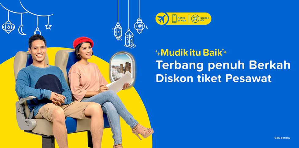 Promo Tiket Pesawat Murah Mei 2018 Rp 100.000