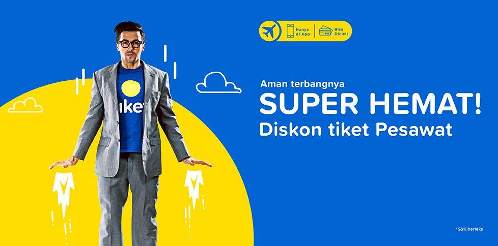 Promo Tiket Pesawat Murah April 2018 Rp 100.000