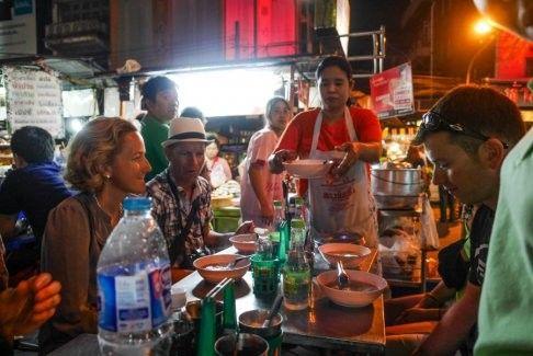 Food Tasting at the Yaowarat Food Bazaar