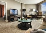 Pesan Kamar Suite Klub, 1 Tempat Tidur King, Akses Business Lounge (partial Harbour) di Four Seasons Hotel Sydney