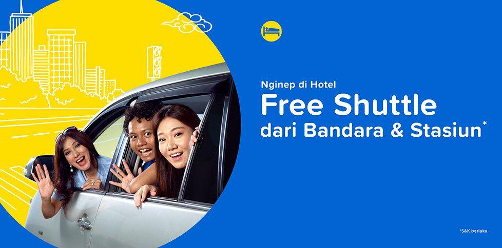 Nginep di Bali Jogja, Gratis Shuttle Bandara & Stasiun
