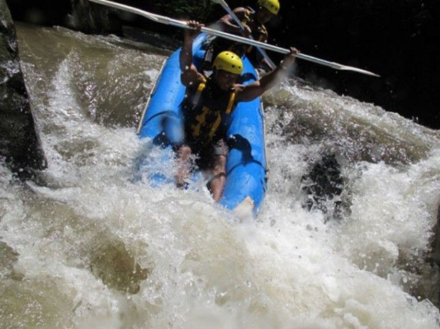 Full-day River Kayaking in Ayung River with Lunch and Transfers