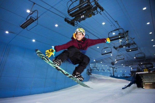 Full-day Ski Dubai Polar Express Pass
