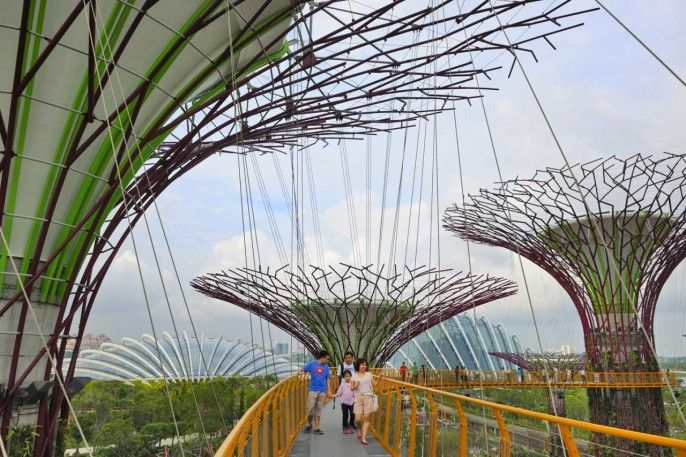 harga tiket Gardens by the Bay E-ticket (Flower Dome + Cloud Forest)