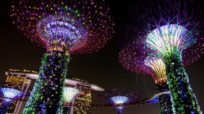 harga tiket Gardens by the Bay E-Ticket for Flower Dome and Cloud Forest