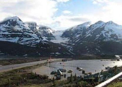 Glacier View Inn Teras
