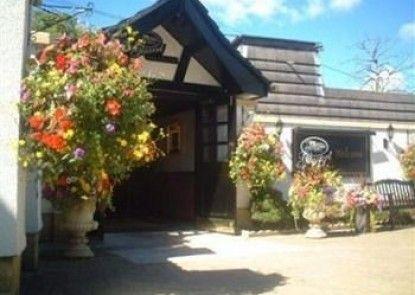 Glazert Country House Hotel Teras