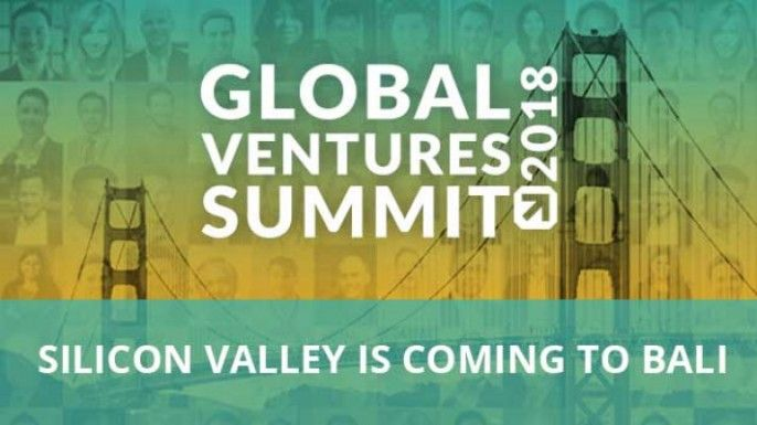 harga tiket Global Ventures Summit Silicon Valley is Coming To Bali 2018