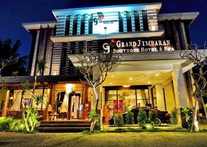 Grand Jimbaran Boutique Hotel & Spa Pintu Masuk