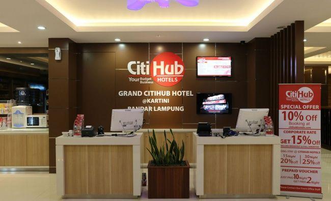 Grand Citihub Hotel @Kartini, Bandar Lampung