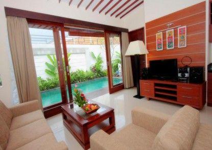 Grania Bali Villas Ruang Tamu