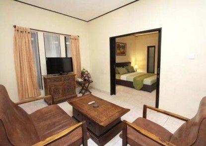Green Villas Hotel and Spa Bali Kamar Tamu