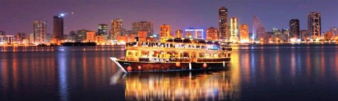 harga tiket Half-day Dhow Cruise at Dubai Creek with Transfer and Dinner