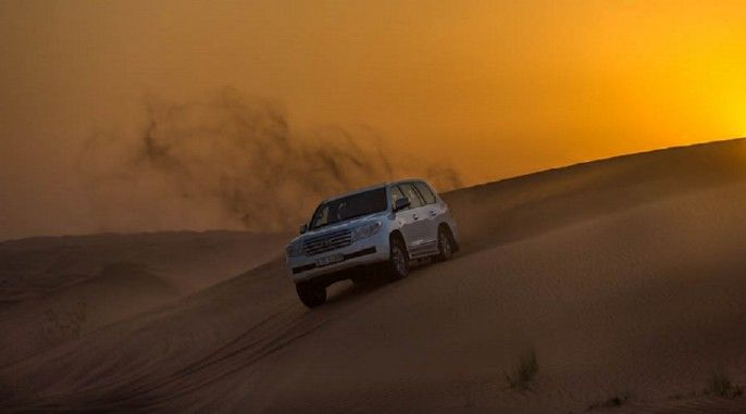 harga tiket Half-day Red Dune Safari in Dubai with Transfer and Dinner