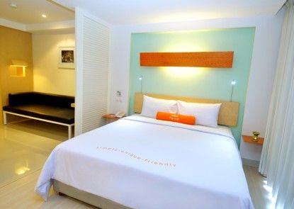 HARRIS Hotel & Residences Riverview Kuta Kamar Tamu