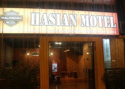 Hasian Malioboro Motel Eksterior