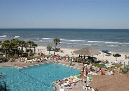 Hawaiian Inn Daytona Beach by Sky Hotels and Resort Teras