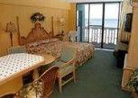 Pesan Kamar Studio, 1 Tempat Tidur King, Dapur, Tepi Laut di Hawaiian Inn Daytona Beach by Sky Hotels and Resort