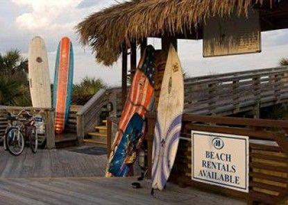 Hilton Cocoa Beach Oceanfront Teras