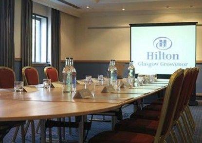 Hilton Glasgow Grosvenor Hotel Teras