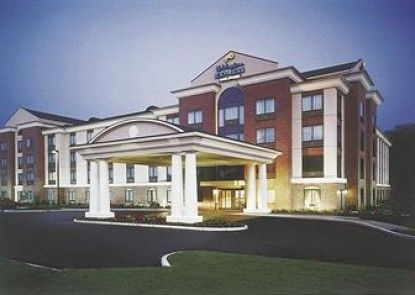 Holiday Inn Express Hotel & Suites Drayton Valley Teras