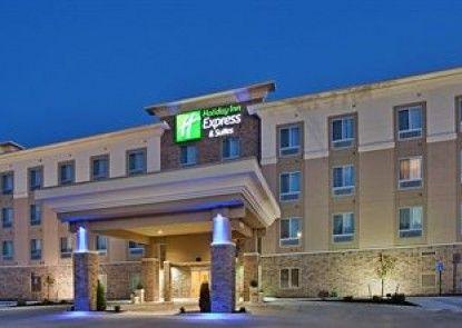Holiday Inn Express Hotel & Suites TOPEKA NORTH Teras