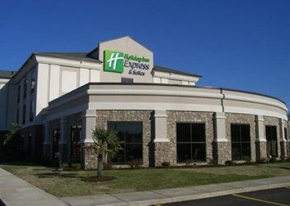 Holiday Inn Express & Suites Covington Teras