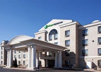 Holiday Inn Express & Suites Grand Junction Teras