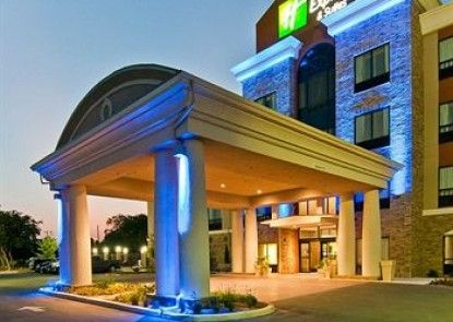 Holiday Inn Express & Suites San Antonio SE By At&t Center Teras