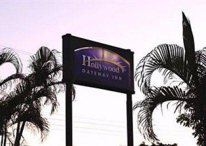 Hollywood Gateway Inn Teras
