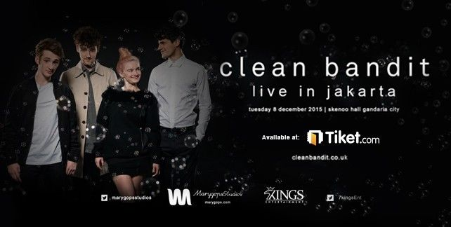 Clean Bandit Live In Jakarta 2015