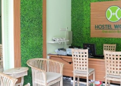 Hostel World, The Eco Living Penerima Tamu