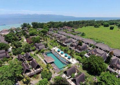 Hotel Vila Ombak Pemandangan