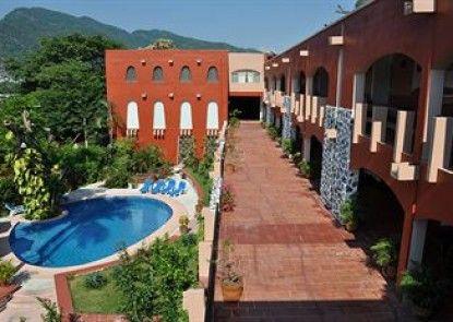 Hotel Zihua Caracol Teras