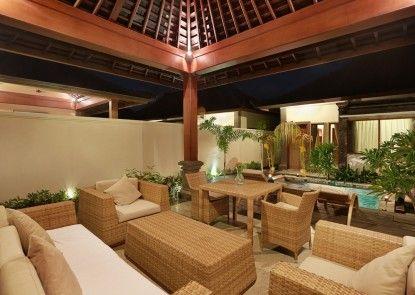 Hotel Vila Ombak Ruang Tamu