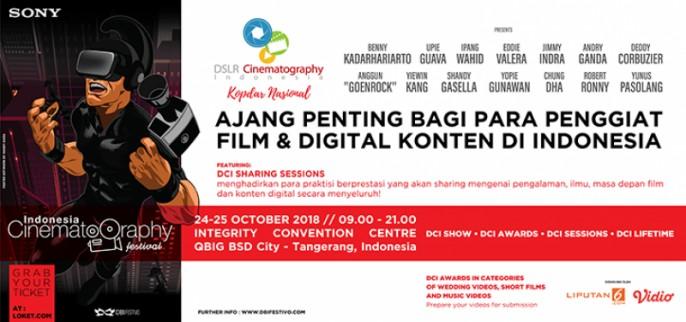 INDONESIA CINEMATOGRAPHY FESTIVAL 2018