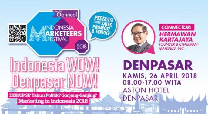 Indonesia Marketeers Festival Denpasar 2018