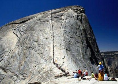 Inside Yosemite Lower Cascades