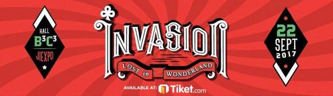 harga tiket INVASION JAKARTA 2017