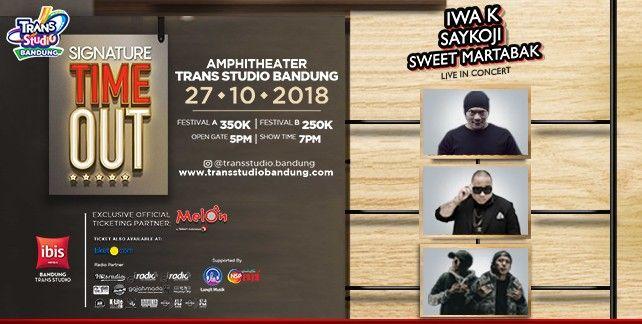 Iwa K, Saykoji, Sweet Martabak Live In Concert 2018