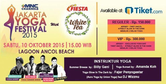Jakarta Yoga Festival 2015
