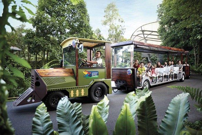 Jurong Bird Park and Tram E-ticket