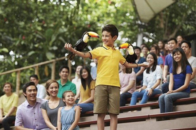 harga tiket Jurong Bird Park: Lunch with Parrots Add-on